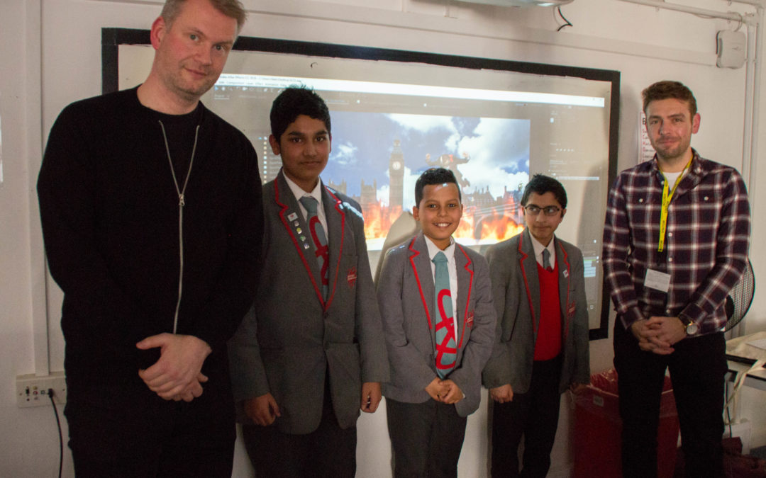 Pupils get creative with Adobe