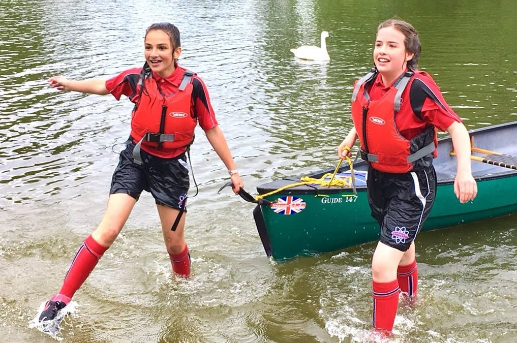Pupils make a splash at BAR Roadshow