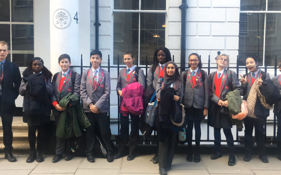 Year 8 in Latin reading competition