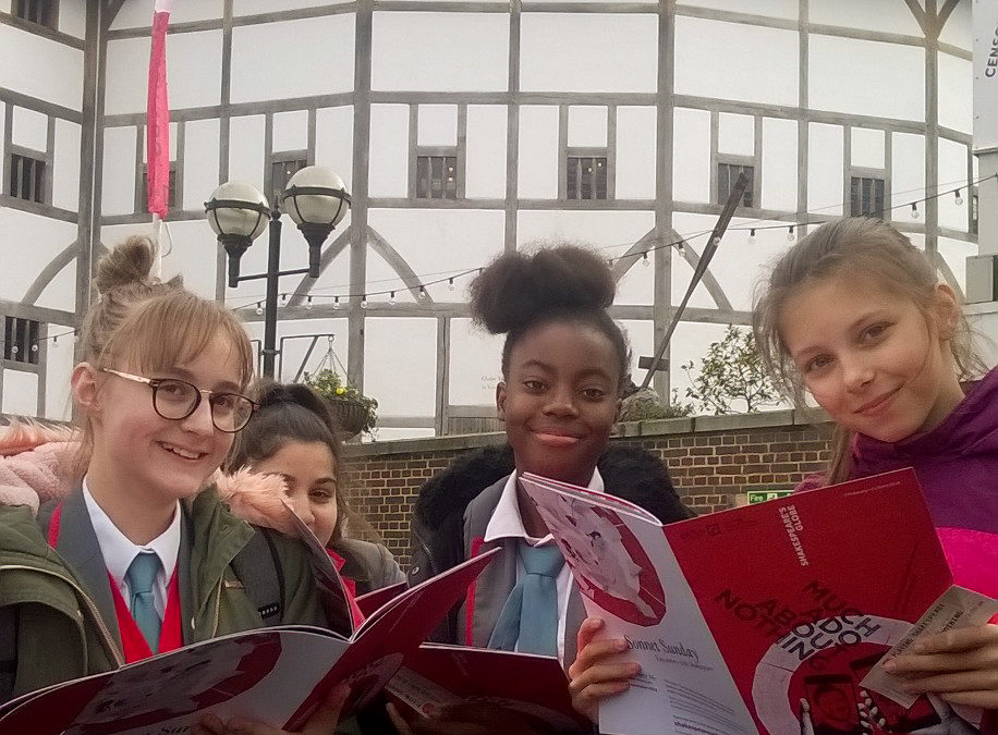 Much ado with Year 8 at the Globe