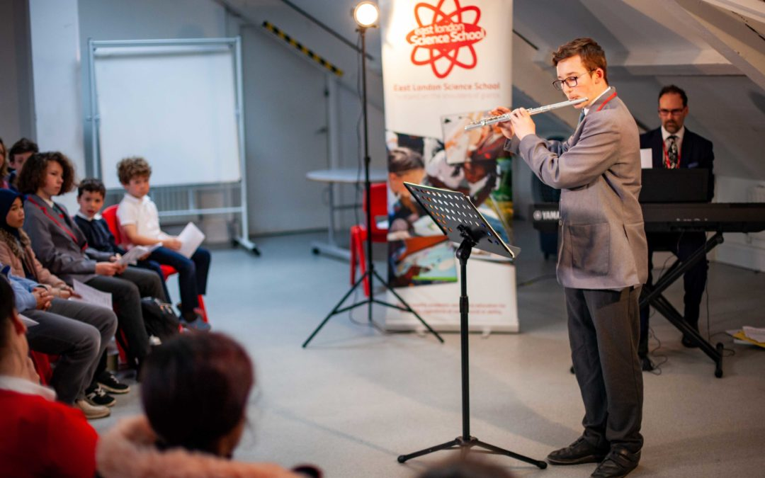 Pupils show off their musical talents
