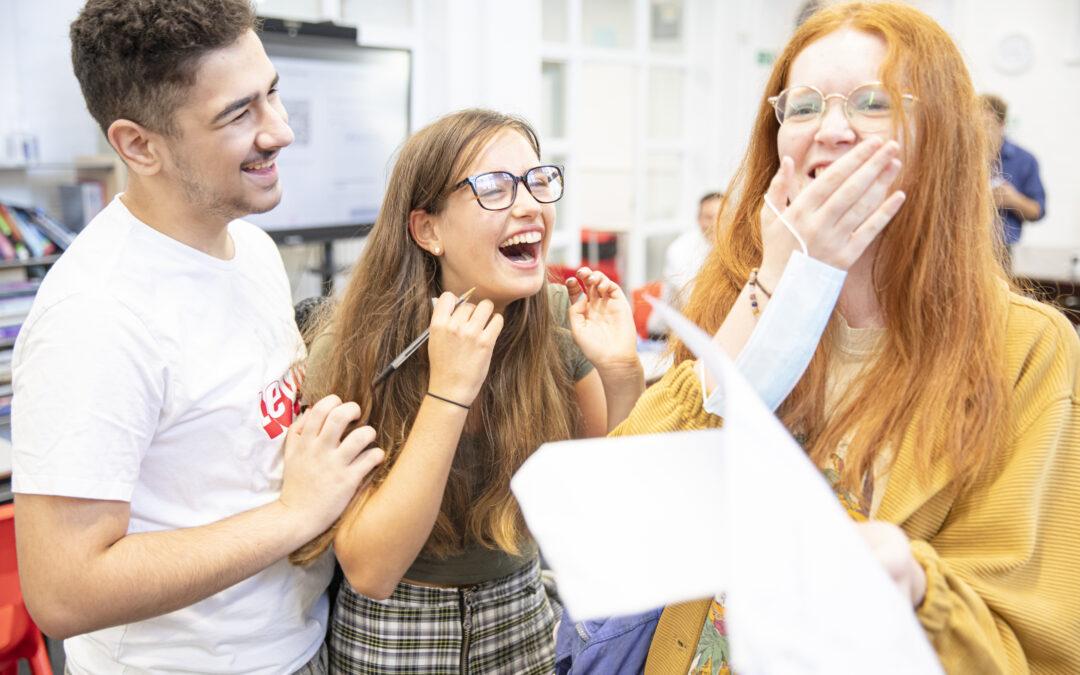 Principal celebrates pupils' success
