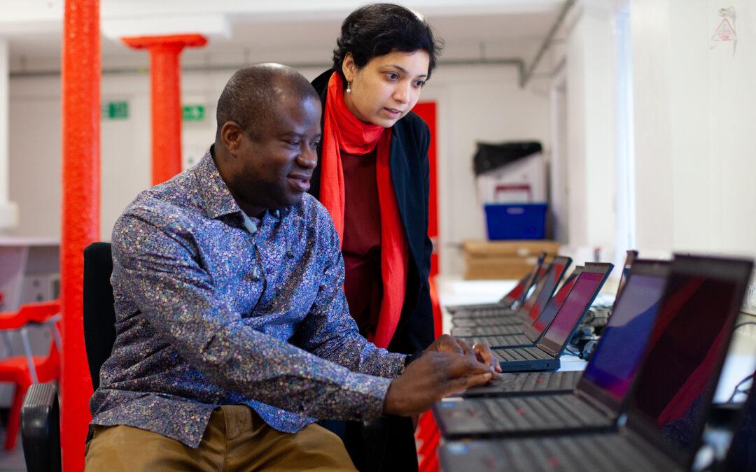 Morgan Stanley help bridge 'digital divide'