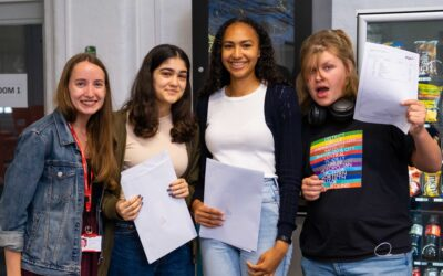East London Science School pupils celebrate outstanding GCSE results